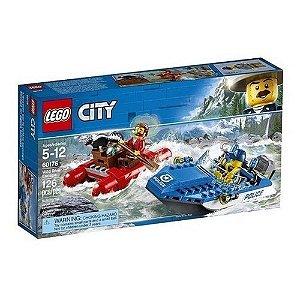 Lego City Wild River Escape 126 peças 60176 Lego