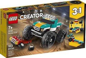 Lego Creator Monster Truck Caminhão Gigante 163 peças 31101 Lego