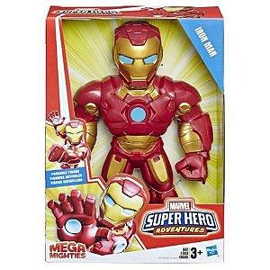 Boneco Homem de Ferro Playskool Super Hero Adventures Marvel E4132 Hasbro