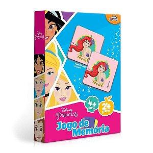 Jogo da Memória Princesas Disney 24 pares 8010 Toyster