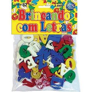 Brincando com Letras 62 peças 4744 Pais e Filhos