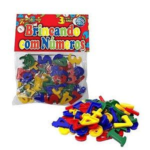 Brincando com Números 56 peças 4743 Pais e Filhos