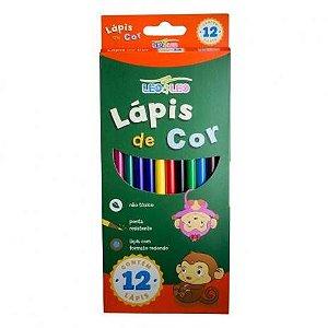 Lápis de Cor 12 cores Leo & Leo
