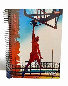 Caderno Universitário 200 folhas Capa Dura Sport Jandaia