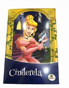 Livro de História Infantil  Clássicos Cinderela