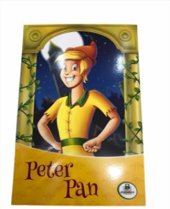 Livro de História Infantil Clássicos Peter Pan