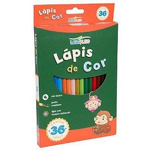 Lápis de Cor 36 cores 4482 Leo & Leo