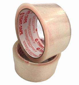 Fita Adesiva de Empacotamento 45mm x 45m Transparente Tight Tape - Unidade
