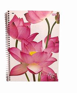Caderno Universitário 96 folhas Capa Dura Paz - Jandaia
