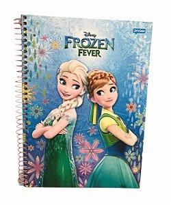 Caderno Universitário 96 folhas Capa Dura Frozen Fever - Jandaia