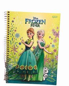 Caderno Universitário 96 folhas Capa Dura Frozen Fever Jandaia