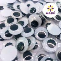 Olho Móvel 10mm Kit com 5 pares Madú