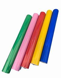 Plástico adesivo contact 45cm x 1 metro Colorido VMP