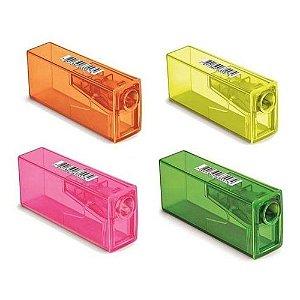 Apontador com Depósito Neon Faber Castell - Unidade