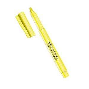 Marca Texto Amarelo Faber Castell