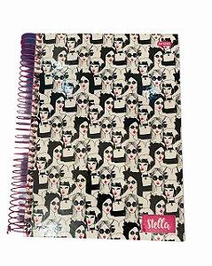 Caderno Universitário 200 folhas Capa Dura Stella - Jandaia