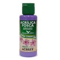 Tinta Acrílica Fosca Nature Colors 60ml Violeta 516 Acrilex