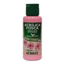 Tinta Acrílica Fosca Nature Colors 60ml Rosa 537 Acrilex