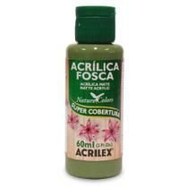 Tinta Acrílica Fosca Nature Colors 60ml Verde Oliva 545 Acrilex