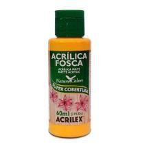 Tinta Acrílica Fosca Nature Colors 60ml Melão 895 Acrilex