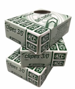 Clipes 3/0  36 mm  ACC