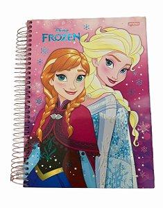 Caderno Universitário 200 folhas Capa Dura Frozen Fever Jandaia
