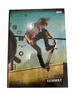 Caderno Brochurão 96 folhas Capa Dura Teen Way - Jandaia