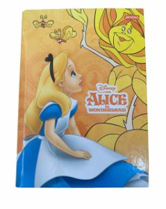 Caderno Brochura 1/4 Capa Dura 96 folhas Alice - Jandaia