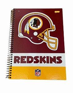 Caderno Universitário 96 folhas Capa Dura NFL - Jandaia