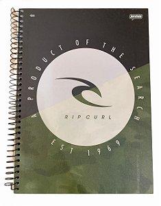 Caderno Universitário 96 folhas Capa Dura Rip Curl Jandaia