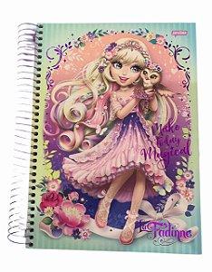 Caderno Universitário 200 folhas Capa Dura La Fadine Jandaia