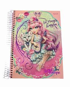 Caderno Universitário 200 folhas Capa Dura La Fadine - Jandaia