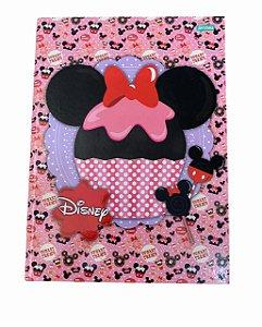 Caderno Brochurão 96 folhas Capa Dura Disney - Jandaia