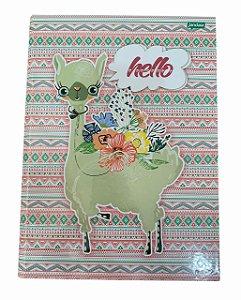 Caderno Brochurão 96 folhas Capa Dura Lhama Jandaia