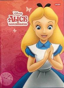 Caderno Brochurão 96 folhas Capa Dura Alice - Jandaia