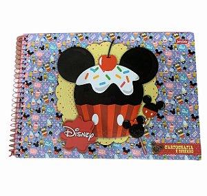 Caderno de Desenho Cartografia 96fls Disney - Jandaia