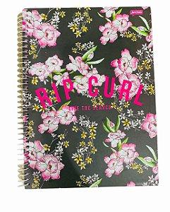 Caderno Universitário 96 folhas Capa Dura Rip Curl Girl Jandaia