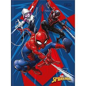 Caderno Brochurão 80 folhas Capa Dura Spiderman - Tilibra
