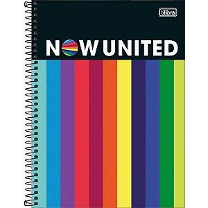 Caderno Universitário 160 Folhas Capa Dura Now United Tilibra
