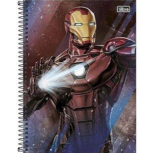 Caderno Universitário 160 folhas Capa Dura Avengers - Tilibra
