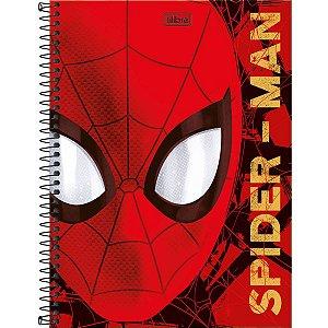 Caderno Universitário 160 folhas Capa Dura Spiderman - Tilibra