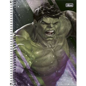 Caderno Universitário 80 folhas Capa Dura Avengers Tilibra