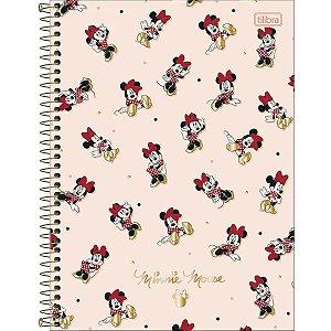 Caderno Universitário 160 folhas Capa Dura Minnie - Tilibra
