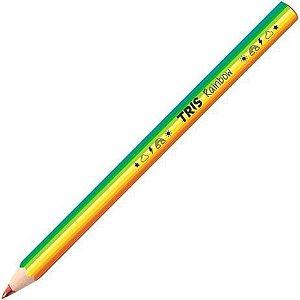 Lápis de Cor Jumbo Rainbow Multicolor Tris - Unidadde