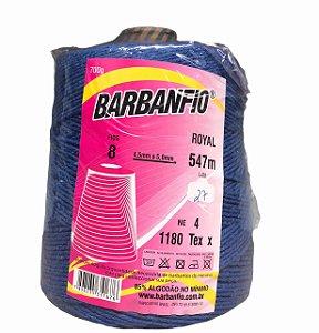 Barbante Barbanfio 8 fios Azul Royal 700 Gramas 547 Metros