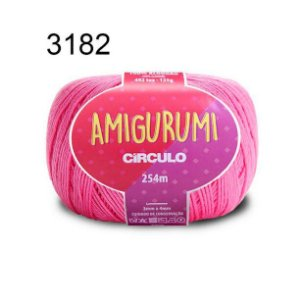 Linha Amigurumi 254m Cor 3182 Pitaya - Círculo