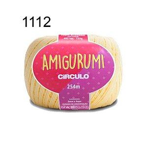 Linha Amigurumi 254m Cor 1112 Creme - Círculo