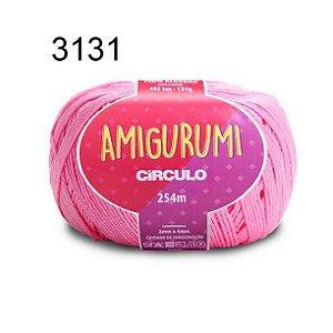 Linha Amigurumi 254m Cor 3131 Chiclete - Círculo