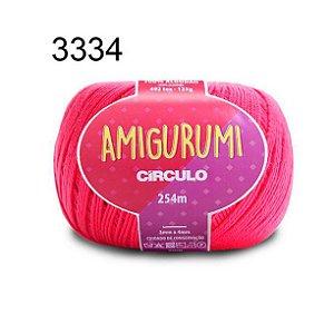 Linha Amigurumi 254m Cor 3334 Tulipa - Círculo
