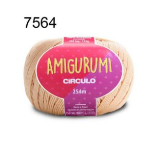 Linha Amigurumi 254m Cor 7564 Porcelana - Círculo